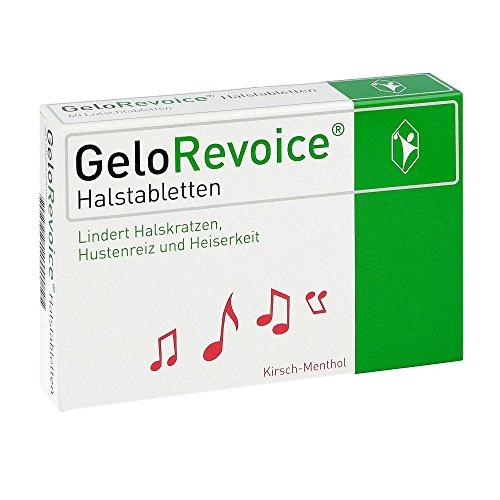 GeloRevoice Halstabletten Kirsch-Menthol, 60 St.