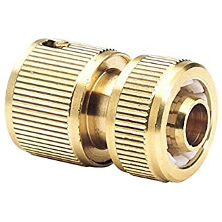 AAJ Expert Brass 1/2-inch Garden Hose Connector