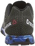 Reebok Herren Crossfit Nano 5.0 Laufschuhe, Schwarz (Black/Blue Sport/Electric Blue/Shark), 47 EU - 2