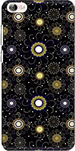 The Racoon Lean printed designer hard back mobile phone case cover for Vivo X Play 5 / Vivo X Play 5 Elite. (Yellow Ran)