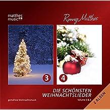 Die Schönsten Weihnachtslieder - Doppelalbum (Vol. 3 & 4) - Instrumentale deutsche & englische Gemafreie Weihnachtsmusik (inkl. Klaviermusik)