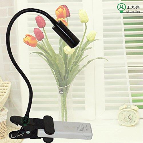 Augenschutz Schreibtischleuchte LED Tube Mobile kreative Mode Aquarien-clip Usb Notebook Lampe, schwarz