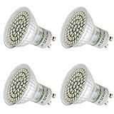 sebson 4X Ampoule LED Plante GU10 3W, Lampe Croissance, Lampe Pante