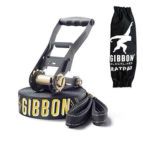 Gibbon Slacklines Set Jibline X13 15 m lang, 5 cm breit - 3