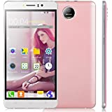 'yikun K6 unlcked Smartphone 6.0 GSM 3 G Android 5.1 Dual SIM Smartphone Quad Core entriegelt 5.0 MP (Rosa)