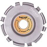 Bayer Bosque Wood Carver–Fresa disco para amoladora de ángulo/madera Edición
