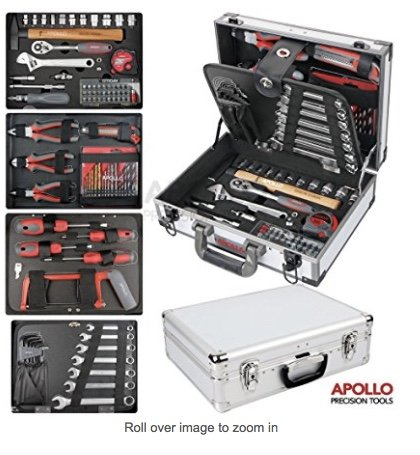 apollo-91-piece-high-grade-chrome-vanadium-cr-v-steel-general-tool-set-with-sockets-spanner-wrenches