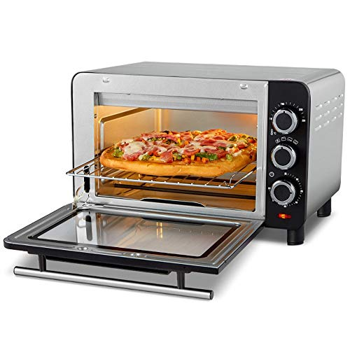 QPSGB Mini Oven With Furnace Light Multi-function Oven Baking Household Automatic Fast Heating Small Electric Oven -2441 oven