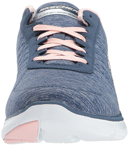 Skechers - Flex Appeal 2.0 High Energy, Scarpe da ginnastica Donna Blu