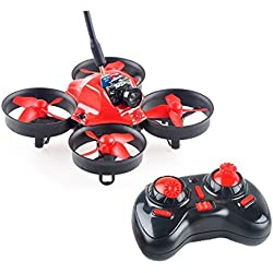 Crazepony-UK Makerfire RTF Micro FPV Lite Quad Tiny Whoop Based on Eachine E010