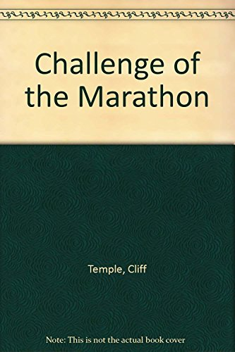 Challenge of the Marathon by Cliff Temple (31-Oct-1981) Paperback