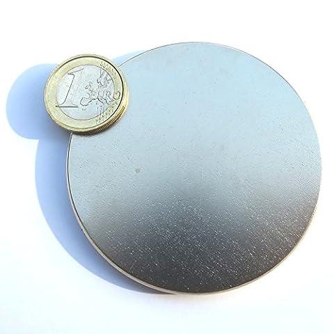 Super aimant Disque en néodyme 70x 5mm. Puissance 30kg. NdFeB moteur Free Energy Engine Power eau magnetizzata magnétothérapie Climsom
