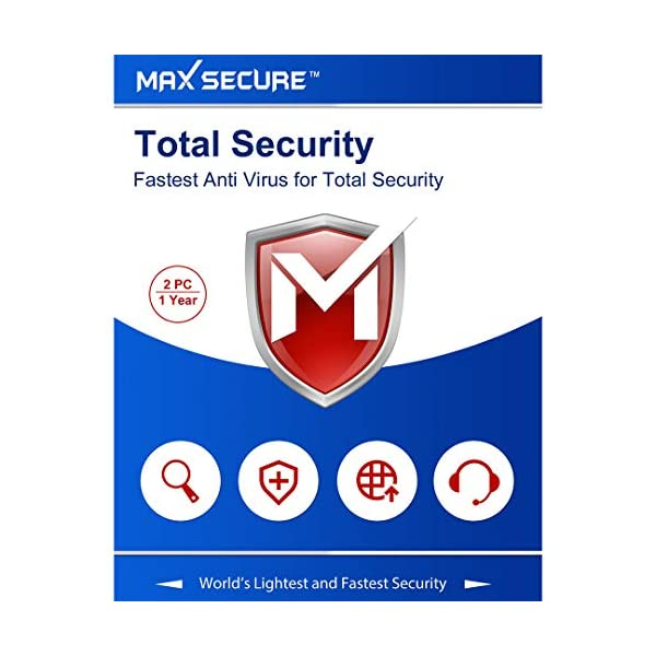 Max Secure Software Total Security Version 6 - 2 PCs, 1 Years (Email  Delivery in 2 Hours - No CD) | Antivirus and Security, Security Suites,  Software