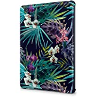 Tropical Wild Orchid Flowers Pattern Durable Hard Plastic Snap-On Plastic Tablet Case Cover For iPad Mini 1