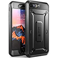 SUPCASE iPhone 8 Plus Hülle iPhone 7 Plus Hülle Unicorn Beetle PRO Case, Schwarz