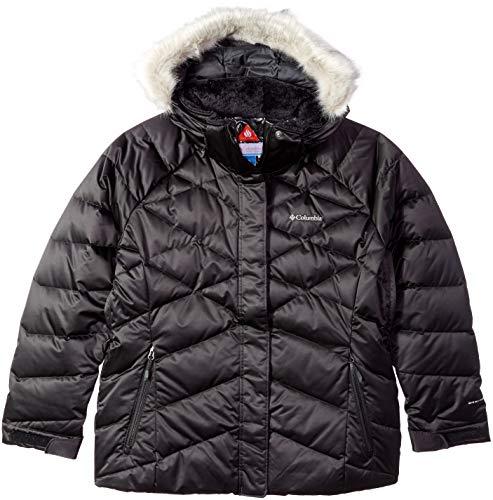 Columbia Lay D DownTM II Jacke in Übergröße, Damen, Lay D DownTM Ii Plus Size Jacket, schwarz, 1X (D Jacket Lay Down)