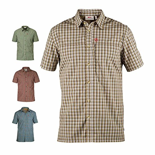 Fjällräven Herren Svante Shirt SS Comfort Oberhemd, Sand, S
