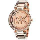 Generic Michael KOR Femme Mk5865Parker Couleur or rose en acier inoxydable montre