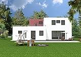Stadtvilla Hausplanung. Grundmaße: 15,7 m x 11,4 m. Wohnfläche: 215,2. (PlanNr 78)