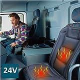 ObboMed SH-4164 24V Beheizbare Sitzauflage Sitzkissen mit Rückenstützung
