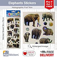 Fun Stickers Elephants 931