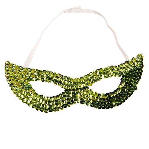 Erwachsene Kinder Maske Gesichts Augenmaske Pailletten Party Fasching Karneval Kostümzubehör (1920 Kind Halloween Kostüme)