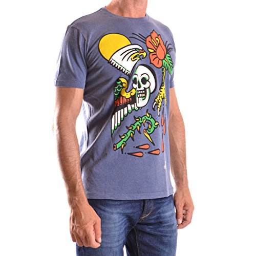 Diesel T-shirt Joe H Indigo Meliert Blau