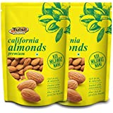 Sattva Life Tulsi California Almonds Premium 400Gm (200 g X 2)