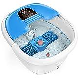 Masajeador spa para pies AREALER Hidromasaje para pies con rodillos automáticos de masaje + Control...