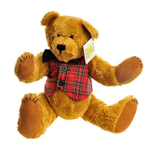 "Artist The Bears Of Haworth Cottage 15"" Jointed Teddy In Waistcoat Great Varieties Bears"