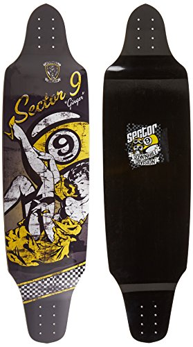 Sector 9 Ginger Skateboard Deck, Assorted, 10.25 x 39.25-Inch by Sector 9