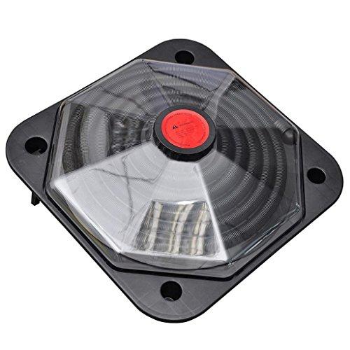 Dôme solaire VidaXL