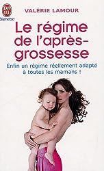 Le régime de l'après-grossesse