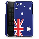 DeinDesign Coque Compatible avec Apple iPhone 3Gs Étui Housse Australie Drapeau Football