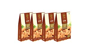 OOSH Roasted Salted Premium California Almond Kernels 250 Grams (1000)