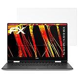 atFolix Schutzfolie kompatibel mit Dell XPS 15 2018 9575 Bildschirmschutzfolie, HD-Entspiegelung FX Folie (2X)