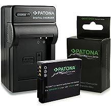 Cargador + Premium Batería DMW-BCM13E DMW-BCM13 para Panasonic Lumix DMC-FT5   DMC-TS5   DMC-TZ37   DMC-TZ40   DMC-TZ41   DMC-ZS30 y mucho más … [ Li-ion; 1100mah; 3.6V ]