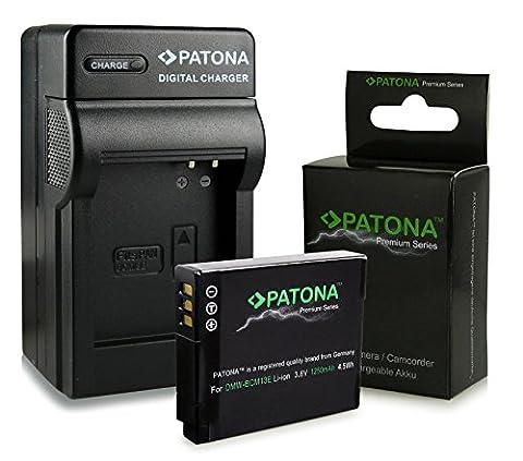 Chargeur + Premium Batterie DMW-BCM13E DMW-BCM13 pour