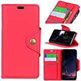 HTC U12 Life Card Holder Case, HTC U12 Life Wallet Case Slim, HTC U12 Life Folio Leather Case Cover Shockproof Case With Credit Card Slot, Durable Protective Case Compatible With HTC U12
