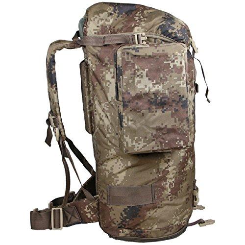 Zaino Camouflage Di Xin.S70L Zaino Portatile Delle Spalle Portatili Zaino Militare Tattico Sacchetto Di Attacco All'aperto Di Sport Campeggio Escursioni. Multicolore C