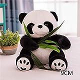 CSJ Giocattoli di Pezza 9-16 Cm 1 Pezzo di Grandi Dimensioni Panda Bambola Peluche Bambino Orso Cuscino Panda Bambola di Stoffa Giocattoli per Bambini Bambino Regalo di Compleanno per Bambini 9Cm