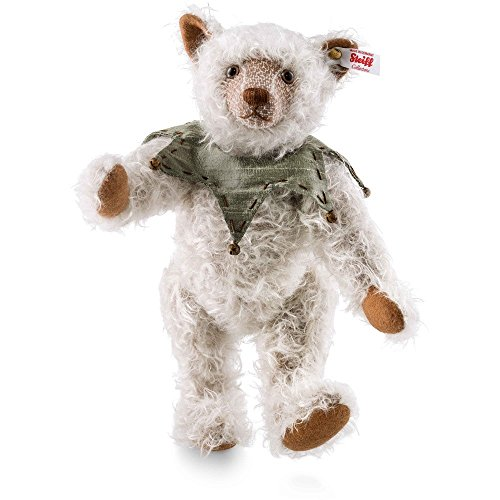 Steiff 021756 Artan Teddybär aus feinstem Mohair graubraun 5-fach gegliedert 30 CM