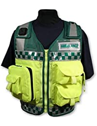 Protec Green and Yellow Medic Paramedic Ambulance Response vest