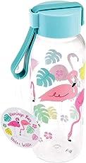 Rex International Kinder Trinkflasche Wasserflasche Flamingo Mini