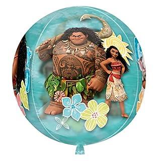 amscan 3468963 Folienballon Kugel Vaiana, verschieden