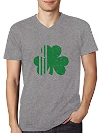 Saint Patrick's Day Irish Shamrock - Ireland's Clover V-Neck T-Shirt