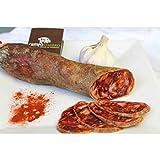 """Chorizo Ibérico de Bellota """"Campo Charro"""" (1,1kg) - Marca de Garantía Ibéricos de Salamanca - Certificado por CALICER - Producto Tierra de Sabor Castilla y León"""