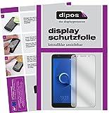 dipos I 2X Schutzfolie klar passend für Alcatel 1X Folie Bildschirmschutzfolie