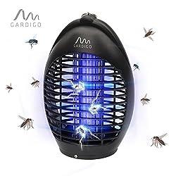 Gardigo Fluginsektenvernichter 20 m² mit UV-LED, schwarz