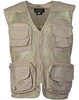 Adults Multipocket Shooting Hunting Mesh Fishing Vest Gilet